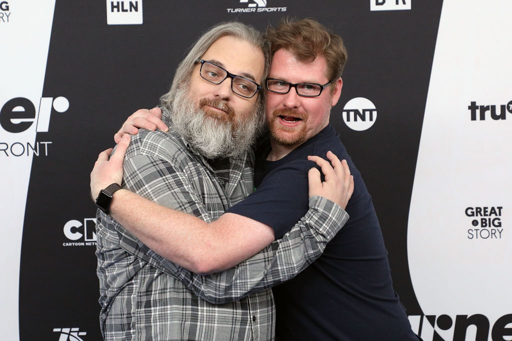 Justin Roiland and Dan Harmon from 'Rick and Morty'
