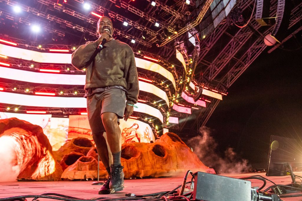 Kanye West | Timothy Norris/Getty Images for Coachella