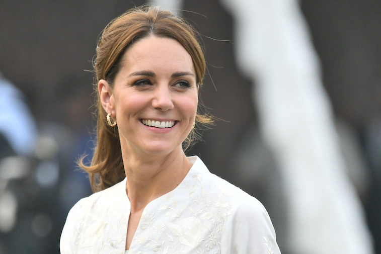 Kate Middleton smiling for the camera