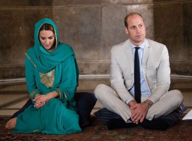 Kate Middleton Prince William Pakistan