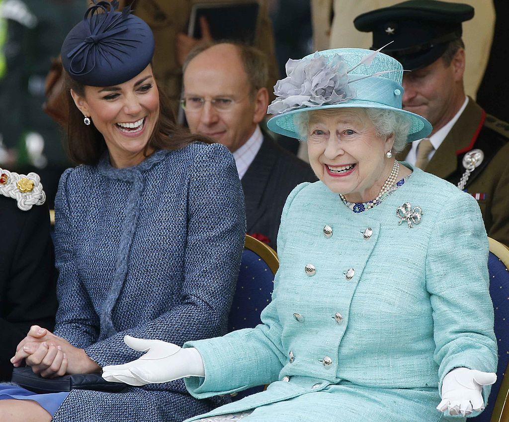 Queen Elizabeth Kate Middleton