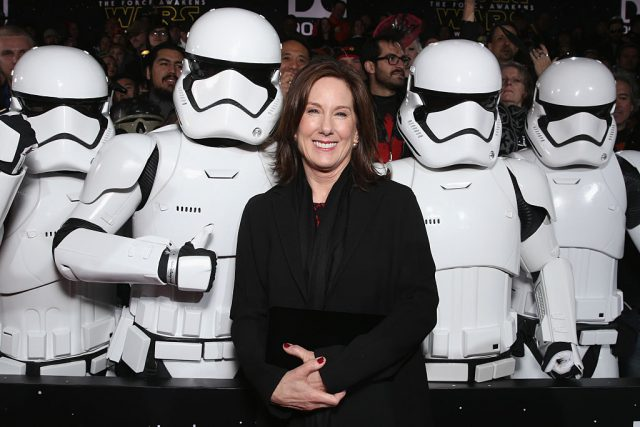 Lucasfilm President Kathleen Kennedy | Todd Williamson/Getty Images