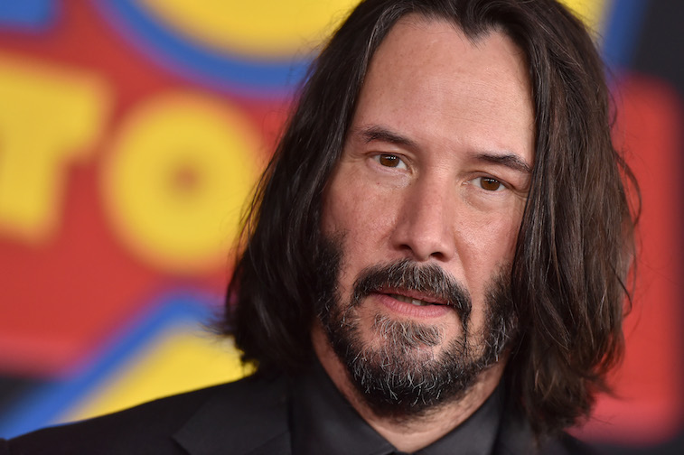 Keanu Reeves on the red carpet