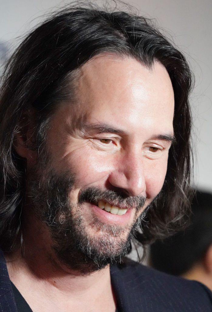 "Keanu Reeves attends a special screening of Lionsgate's ""Semper Fi"""