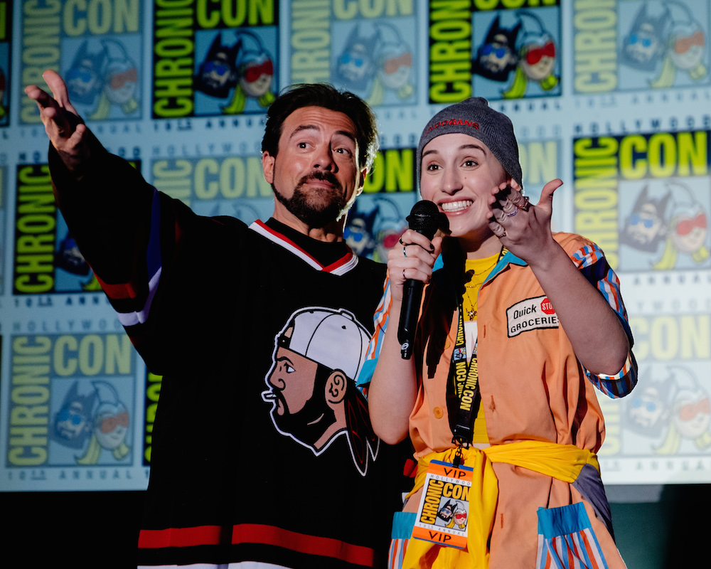 Kevin and Harley Quinn Smith