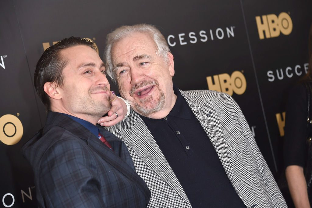 Kieran Culkin and Brian Cox