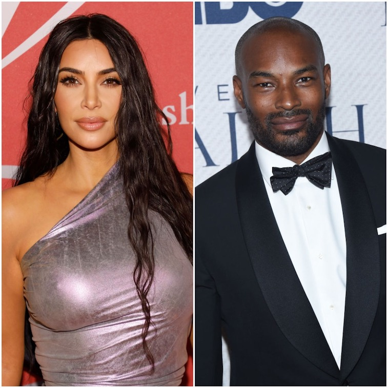 Kim Kardashian West and Tyson Beckford