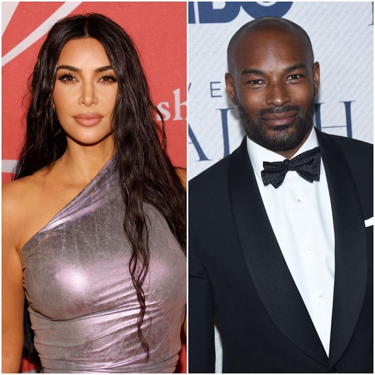 Kim Kardashian West and Tyson Beckford
