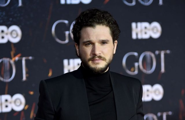 Kit Harington at Game Of Thrones premiere