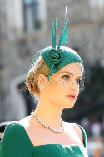 Kitty Spencer at the royal wedding of Prince Harry and Meghan Markle