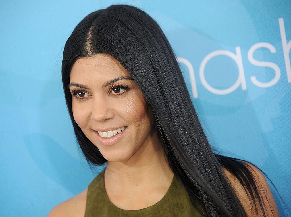 Kourtney Kardashian speaks onstage