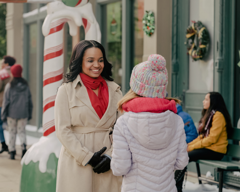 Kyla Pratt in No Time Like Christmas