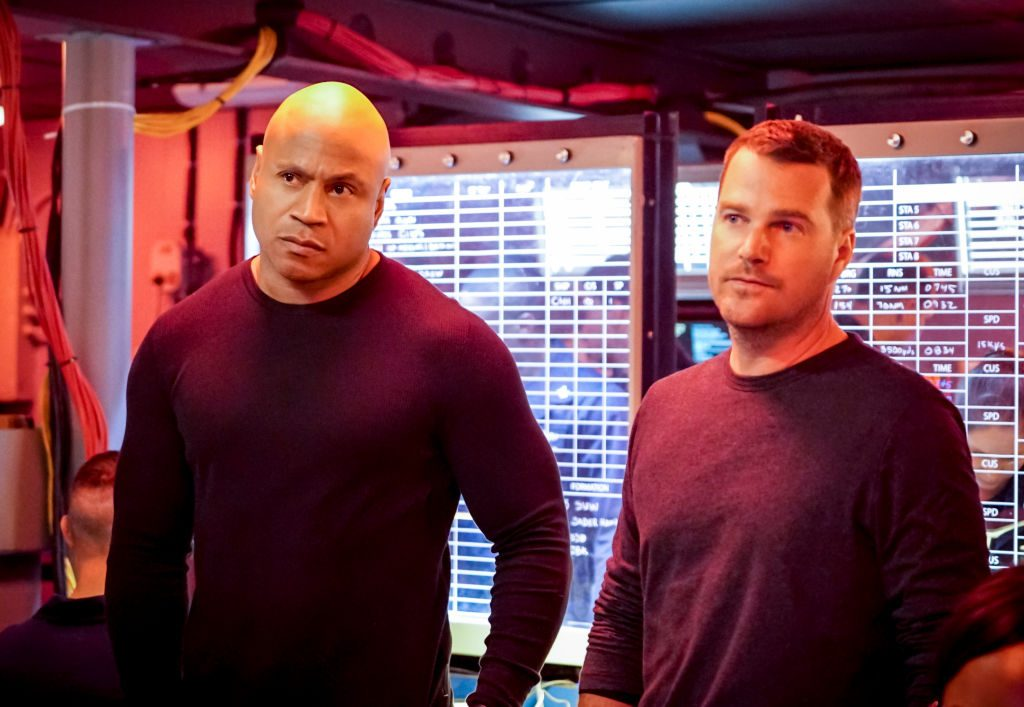 LL Cool J and Chris O'Donnell on NCIS Los Angeles | Bill Inoshita/CBS via Getty Images