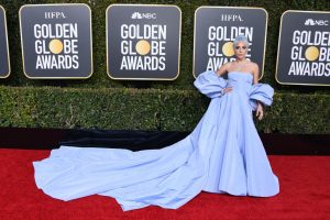 Here's How Much Lady Gaga's 'Stolen' Golden Globes Dress Is Currently Selling For
