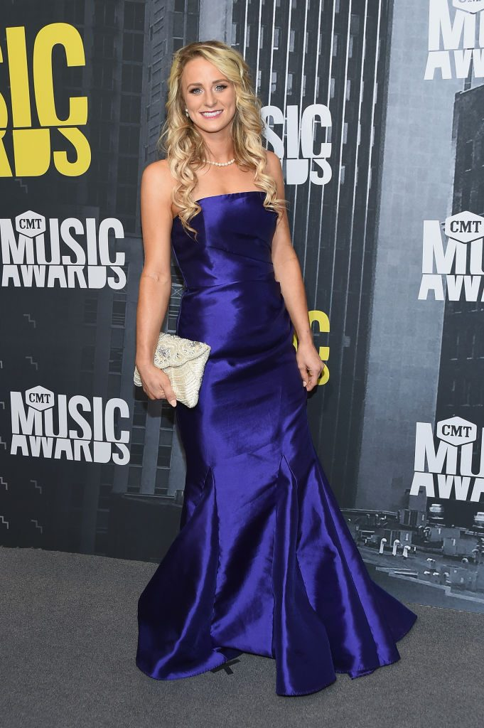 Leah Messer attends the 2017 CMT Music Awards at the Music City Center
