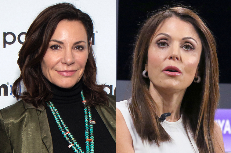 Luann de Lesseps and Bethenny Frankel