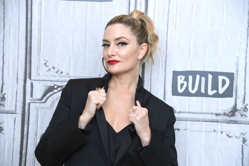 Mädchen Amick on the red carpet