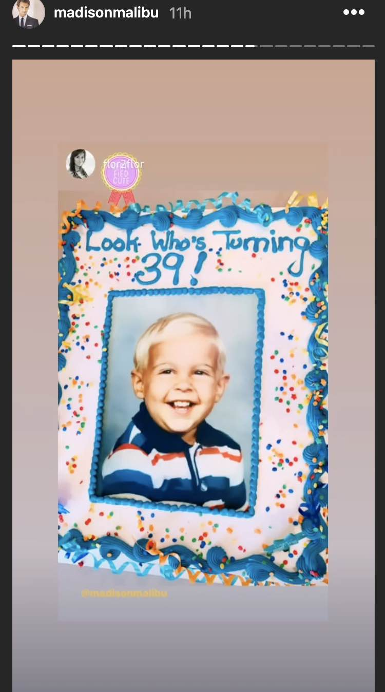 Madison Hildebrand birthday cake