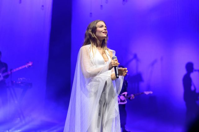 Maggie Rogers performs at Radio City Music Hall, Oct. 2019