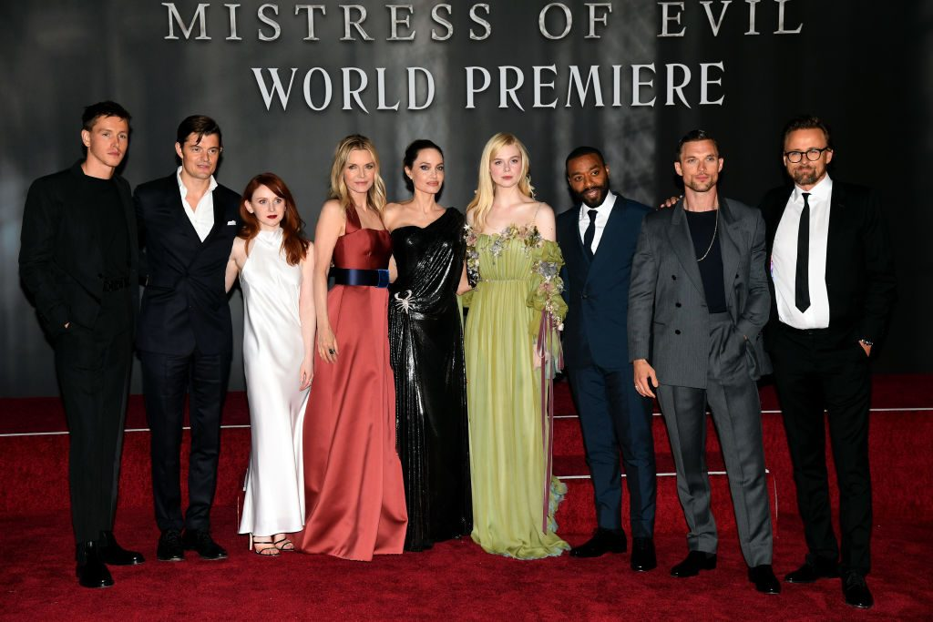 Maleficent Cast
