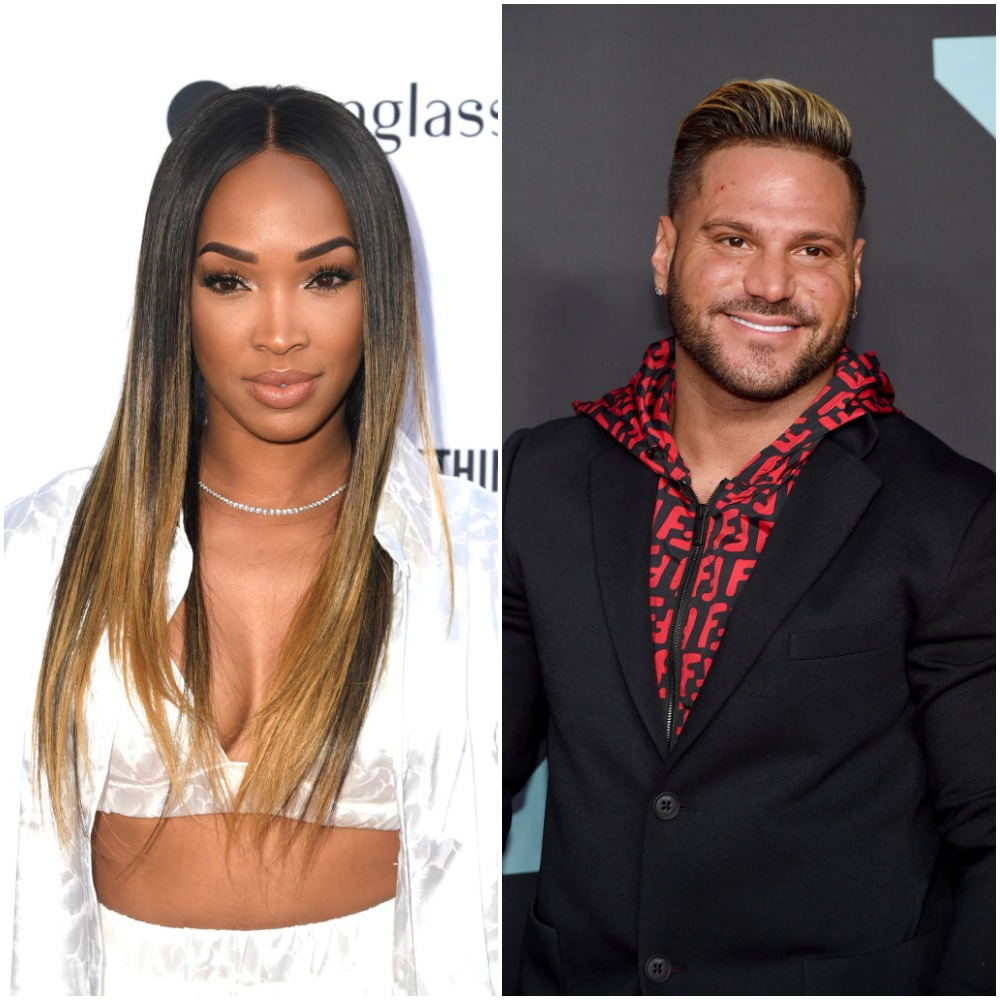 Malika Haqq and Ronnie Ortiz-Magro