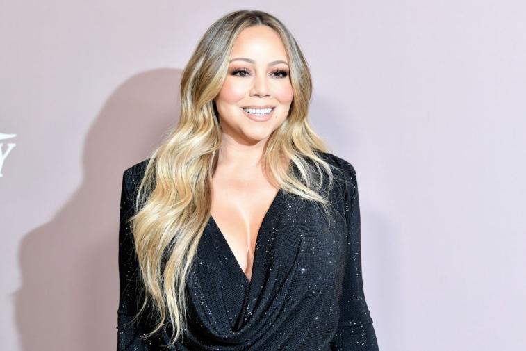 Mariah Carey performs onstage