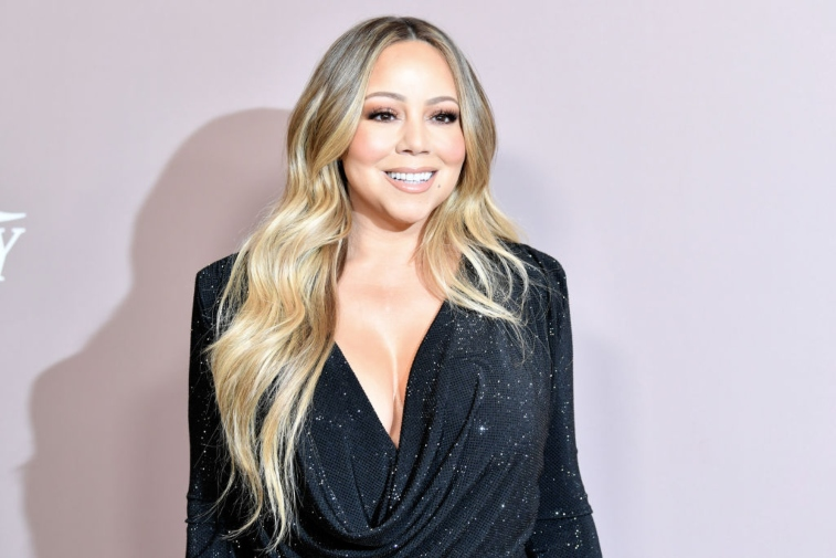 Mariah Carey performs onstage