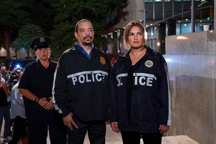 Ice-T and Mariska Hargitay