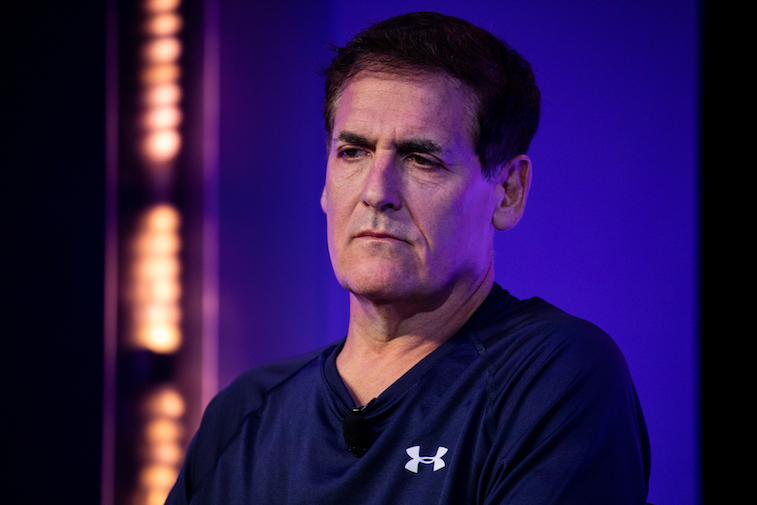 Mark Cuban at a technology conference