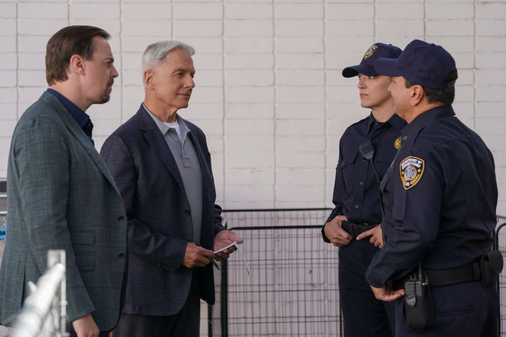 Mark Harmon and Sean Murray | Michael Yarish/CBS via Getty Images
