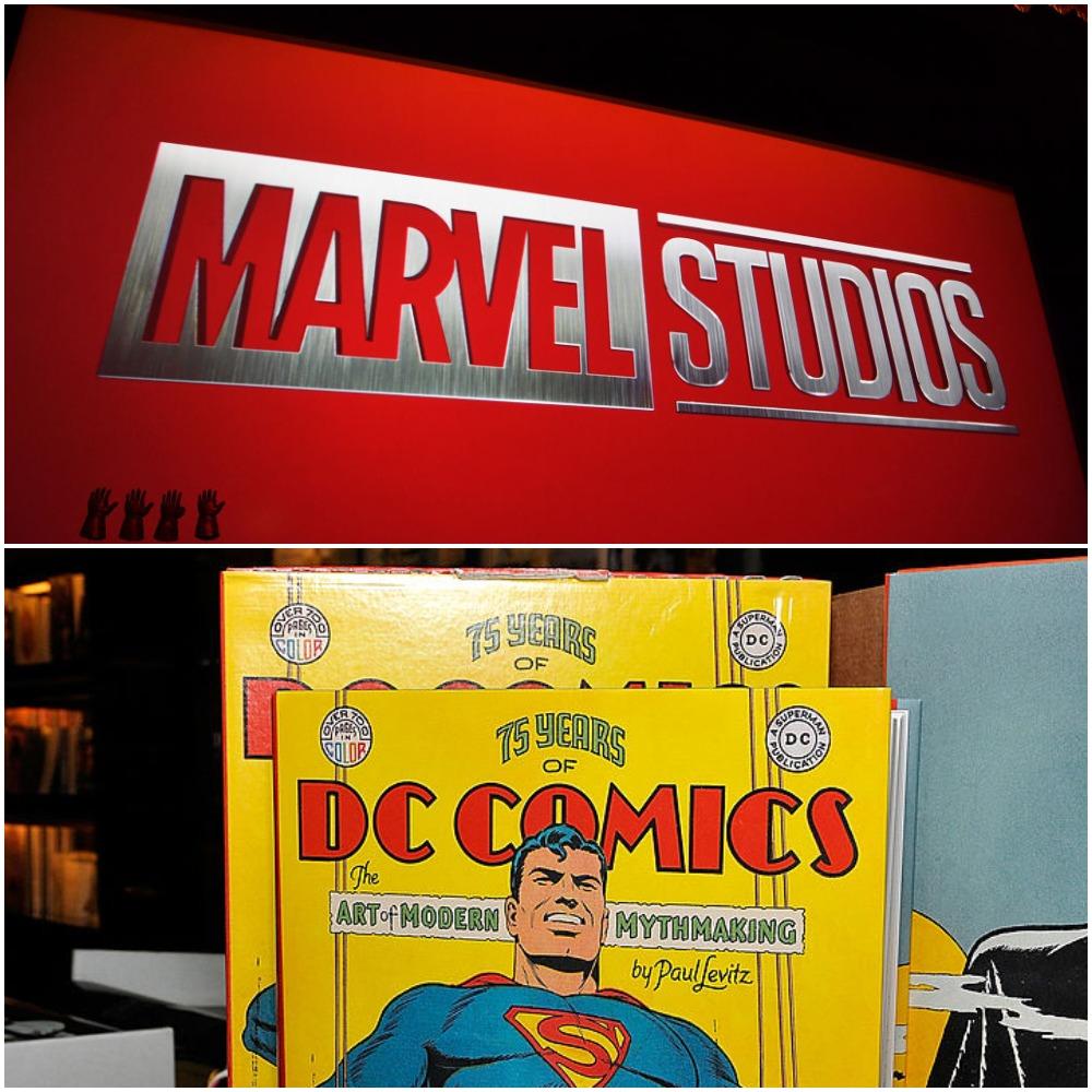 Marvel MCU and DC DCEU