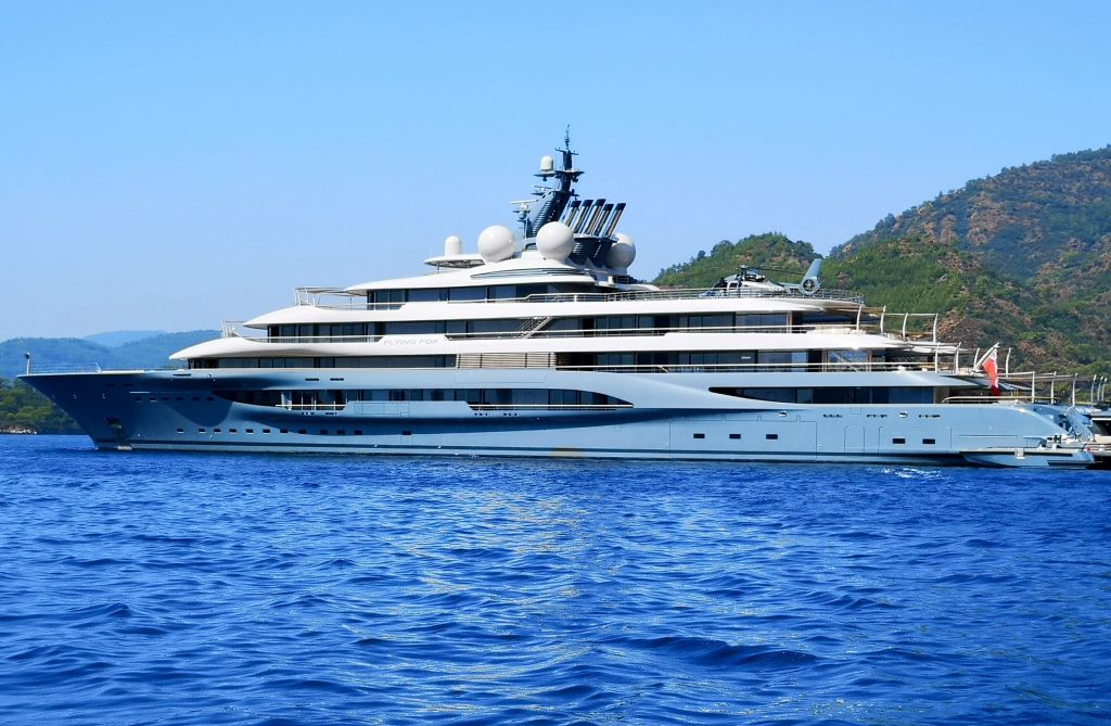 'Flying Fox', one of the top 20 largest superyachts in the world