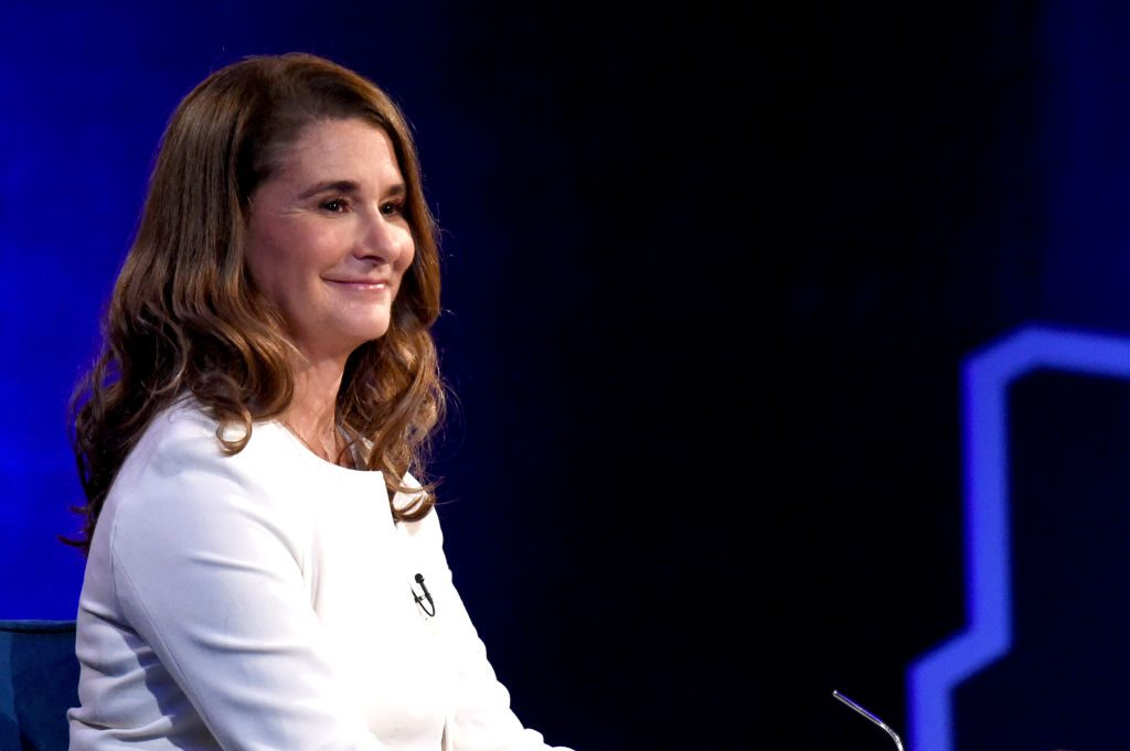 Melinda Gates in an interview