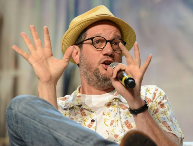 Michael Giacchino on stage