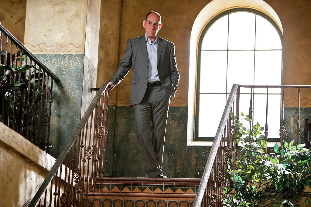 Miguel Ferrer on the set of NCIS Los Angeles | Sonja Flemming/CBS via Getty Images