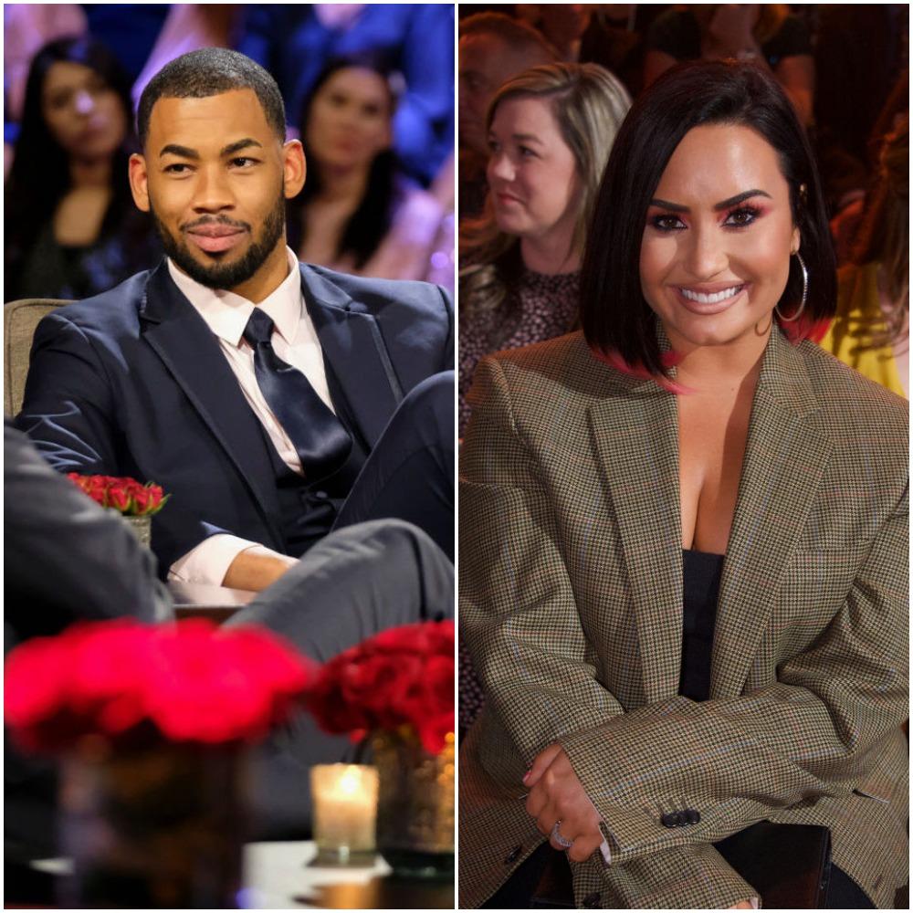 Mike Johnson and Demi Lovato