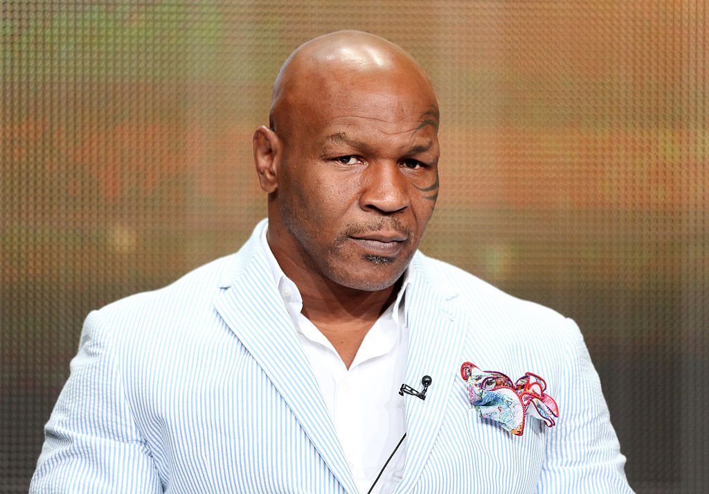 Mike Tyson at the USTA 19th Annual Opening Night Gala Blue Carpet