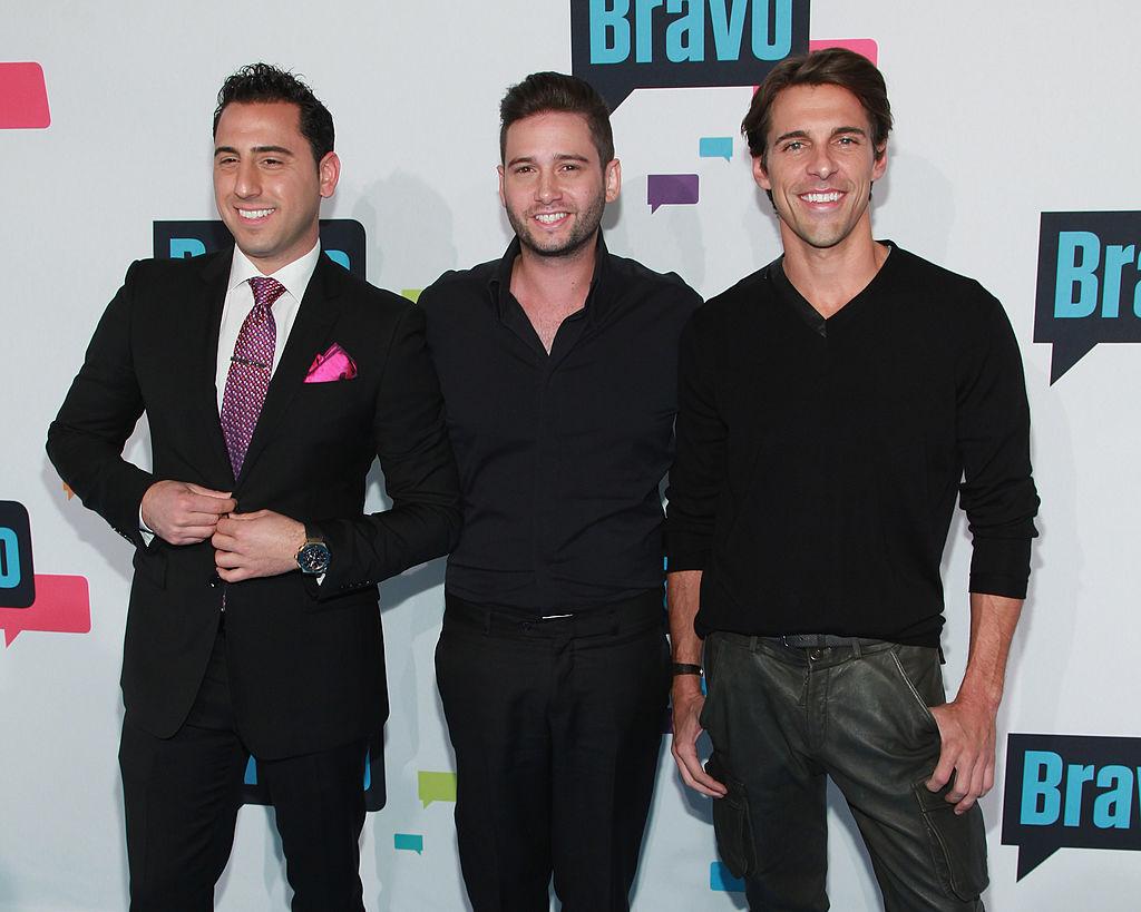 "Josh Altman, Josh Flagg, and Madison Hildebrand of ""Million Dollar Listing L.A."