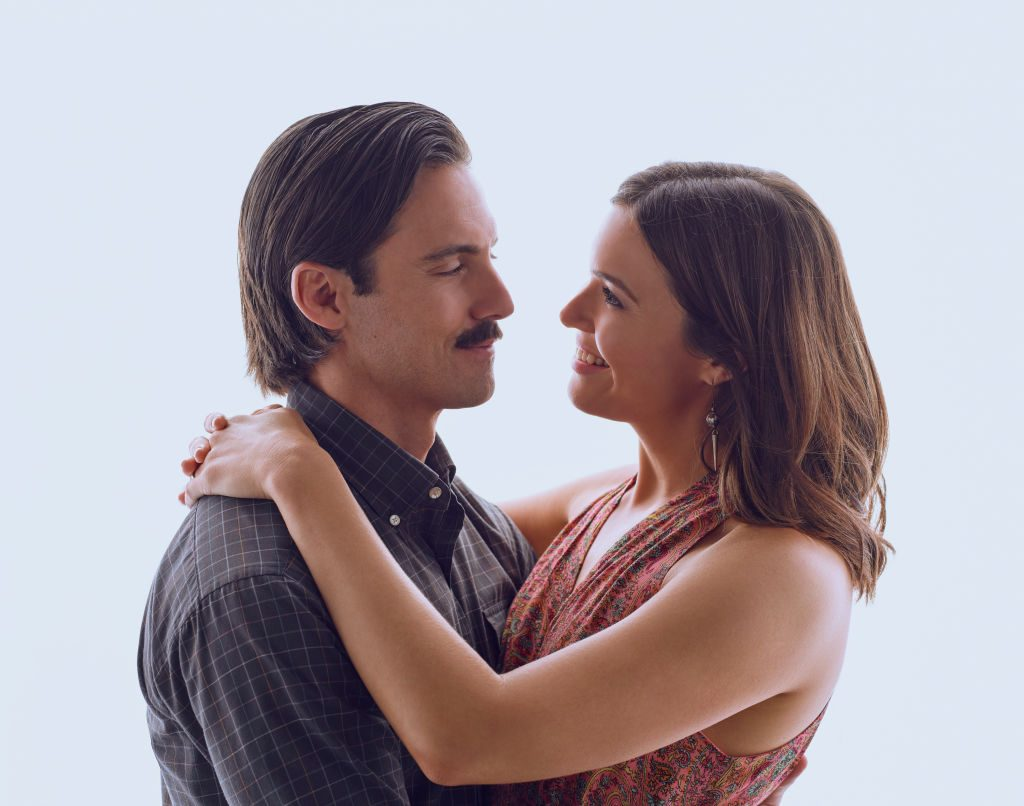Milo Ventimiglia and Mandy Moore from 'This Is Us'