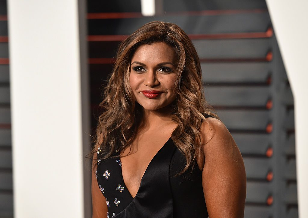 Mindy Kaling former writer for The Office