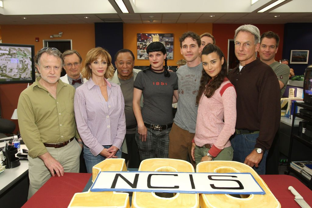 NCIS cast with producers and writers    John Shearer/WireImage