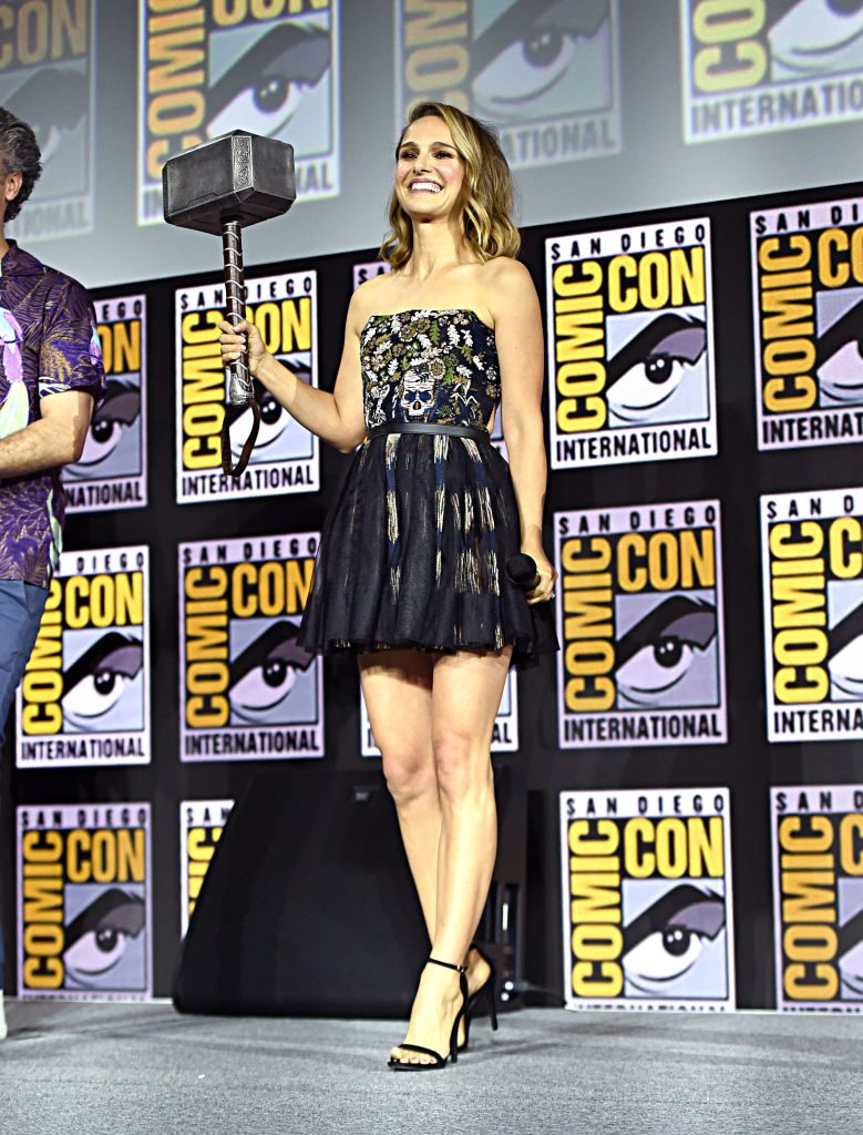 Natalie Portman Thor: Love and Thunder SDCC MCU