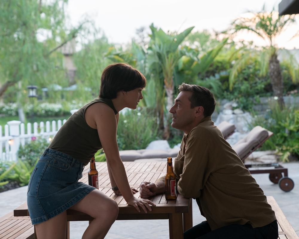 Natalie Portman and Jon Hamm