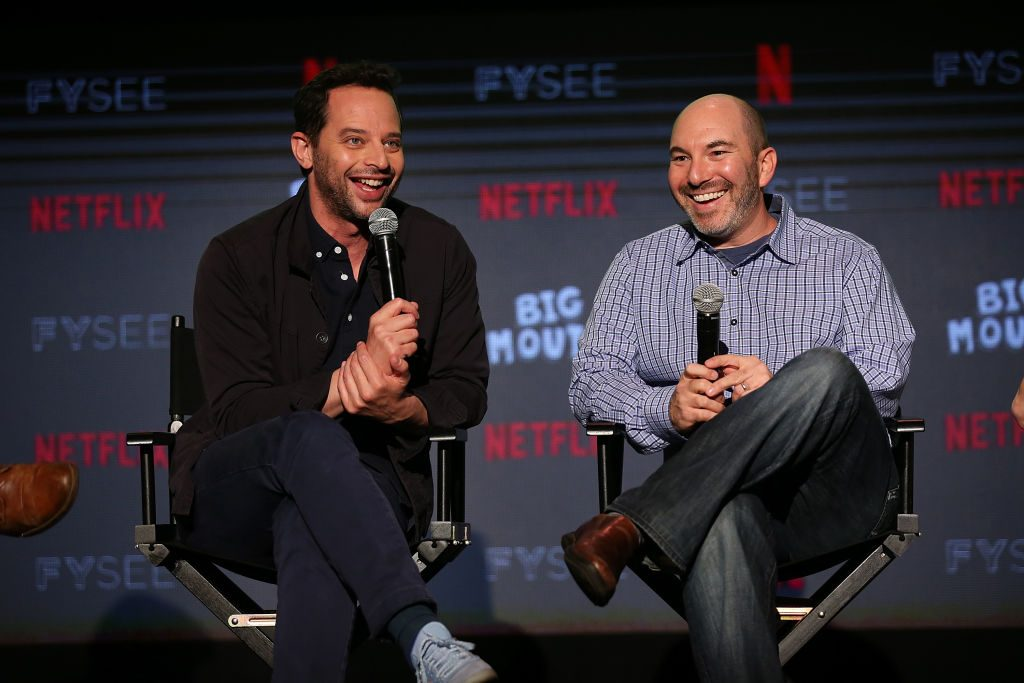 Nick Kroll and Andrew Goldberg speak about Big Mouth