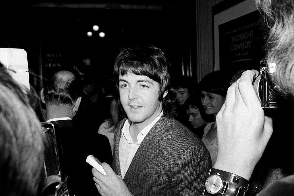 Paul McCartney performs onstage