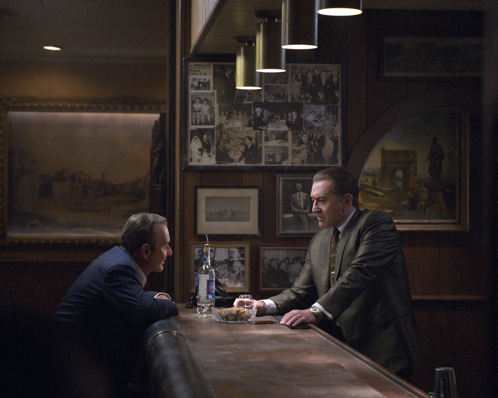 The Irishman - Joe Pesci and Robert De Niro