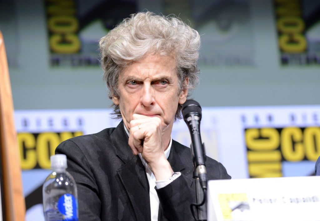 Peter Capaldi from Doctor Who