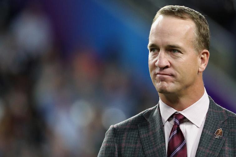 Peyton Manning at the Super Bowl