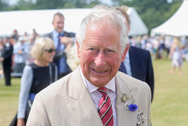 Prince Charles at the Sandringham Flower Show