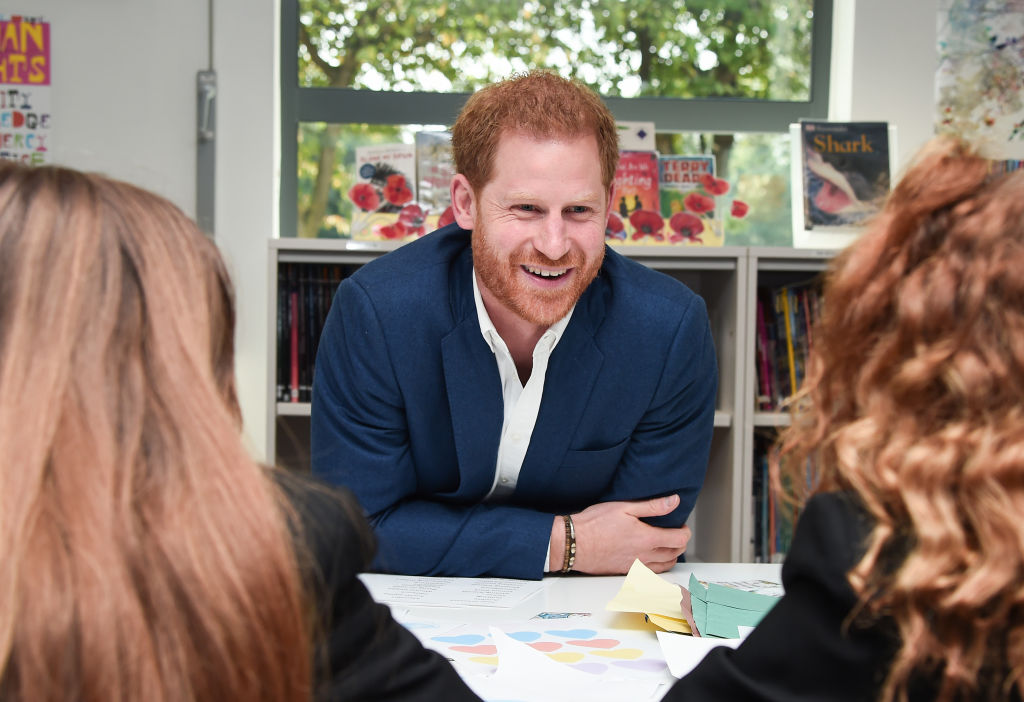 Prince Harry visits the British High Commissioner